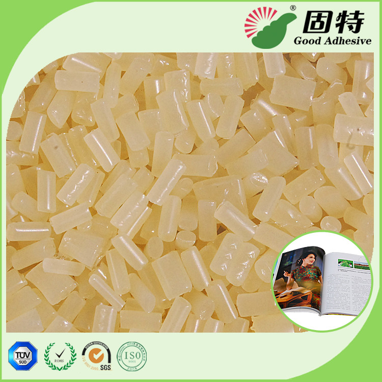 Coated Paper EVA Based Hot Melt Pellets Used With Semi Automatic Machine